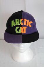 Vintage Retro Arctic Cat Snowmobile Adjustable Snapback Hispter Baseball Hat Cap