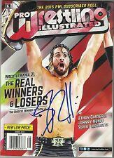 WWE SETH ROLLINS Signed Pro Wrestling Illustrated Magazine