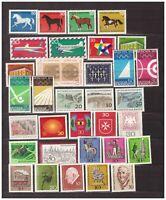 S31674) Germany 1969 MNH Year Set 33v (NO S/S)