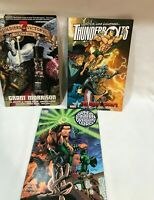 3 graphic novel lot ,Thunderbolts,Green Lantern,7 soldiers of victory