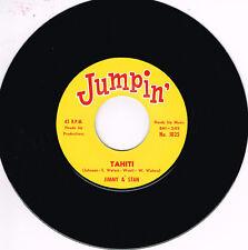 JIMMY & STAN - TAHITI b/w BABY EARL - BACK SLOP (Popcorn - Rhythm & Blues - Soul