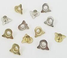 Scrapbooking Embellishments Wedding Bell Eyelets Gold Silver 12 Christmas Bells