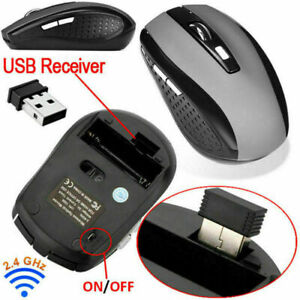 Universal 2.4GHz Wireless Optical DPI Mouse Mice For Notebook PC Laptop Computer