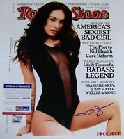 THE ONE TO OWN! Megan Fox Signed Autographed 11x14 Photo PSA IN THE PRESENCE COA
