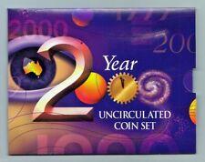 """2000 """" MILLENNIUM """" 6 Coin  RAM MINT Uncirculated Set Very Scarce"""