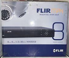 Flir MPX Megapixel Over Coax 8 Camera 8 Channel DVR Bundle M31082C8