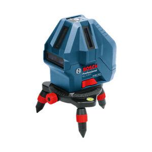 Bosch GLL 5-50X Professional Cross 5-Line Self Leveling Line Laser ,  Portable
