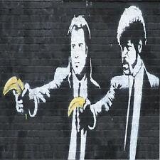 Posavasos De Vidrio Banksy Estilo Moderno Street Art Hecha en Reino Unido Art 2 glassuk Regalo 2073