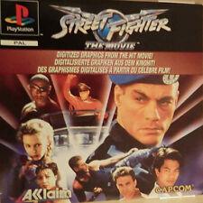 Sony Playstation 1 PS1 Spiel Street Fighter The Movie Komplett mit Anleitung