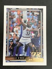 🔥🔥1992-93 TOPPS GOLD SHAQUILLE ONEAL # 362 ROOKIE RC🔥🔥🔥