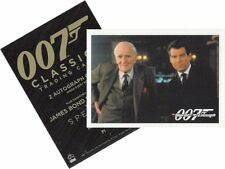 "James Bond Classics 2016 - P1 Promo Card - ""The World Is Not Enough"""