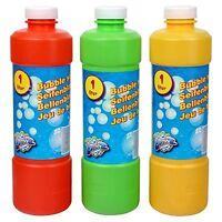 Liquide bulles Bouteille De Recharge 1 litre Eau savonneuse à bulles Recharge