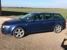 Audi A4 2.0 tdi S Line Auto Estate Blue