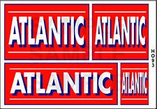 ATLANTIC GASOLINE GAS HO SCALE PEEL/STICK BUILDING DIORAMA LAYOUT SIGNS HO93
