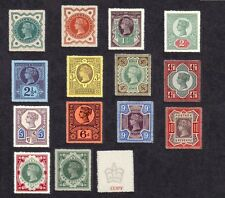 Queen Victoria 1887-92 JUBILEE ISSUE Set de 14 (Faux)