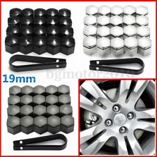 20x 19mm Plastic Cap Bolts Cover Protector Nut Alloy Wheel For Vauxhall Opel