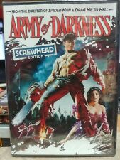 Army of Darkness (DVD, 2009, Screwhead Edition 5 Halloween Candy Cash Offer)