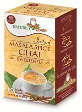 Natures Guru Masala Spice Chai Sweetened Drink Mix - Pack Of 8
