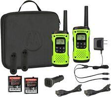 Motorola Talkabout T605 Rechargeable Waterproof 2-way Radios Walkie Talkies Kit