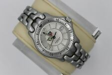 Tag Heuer Watch Midsize Mens Women SEL WG121B Link S/EL SILVER Gray Professional