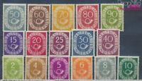 BRD 123-138 postfrisch 1951 Posthorn (8193737