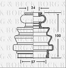 BCB2718 BORG & BECK CV JOINT BOOT KIT fits Volkswagen - Inner NEW O.E SPEC!