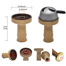 1 Set Hookah Shisha Ceramic Phunnel Bowl Perfect for Charcoal Holder
