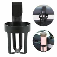 Car Water Cup Holder Drink Bottle Can Door Mount Stand Clip Accessories Black