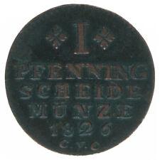 Braunschweig 1 Pfennig 1826 A43143
