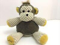 "Scentsy Buddy Mollie the Monkey Plush Stuffed Animal Toy Lovey Yellow Tan 8"""