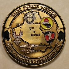 5th Special Forces Airborne / Grom TF Legion OIF CJSOTF-AP Army Challenge Coin