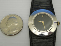 GENUINE CONCORD SOLID STEEL MECHANICAL HAND WINDING 29MM WATCH