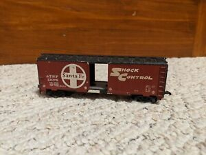 Tyco HO Scale Santa Fe ATSF 12079 Box Train Car Railroad