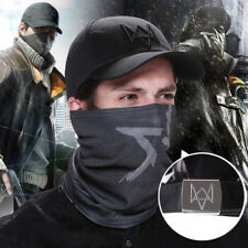 Game WatchDogs Caps+Bandana Mask Bicycle Sport Scarf Neck Face Adjustable