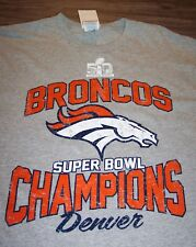DENVER BRONCOS SUPER BOWL 50 NFL CHAMPIONS FOOTBALL T-Shirt LARGE NEW w/ TAG