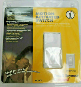 PASS & SEYMOUR motion activated switch 1 Min Auto off   mcswv  FREE ship in USA