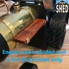 MAMOD WILESCO KENNETH WELLS BRASS BOILER BANDS AND WOOD RUNNING BOARD