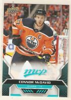 CONNOR McDAVID 2020-21 UD MVP SP BASE CARD #201 OILERS