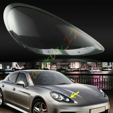 Righ /Passengers Side Headlight Cover Clear Pc+Glue For Porsche Panamera 2010-13