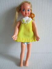 BARBIE Puppe Tutti Kleid gelb 60er Jahre MATTEL