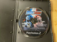 WWE SmackDown vs. Raw 2006 (PlayStation 2 PS2) Disc Only!!! Ships Free