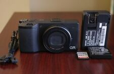 Black Ricoh Gr 16Mp Aps-C Compact Digital Camera