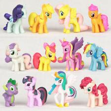 My Little Pony Figures Toys Mini Unicorn Fluttershy Rainbow Dash 12PC Bundle Set