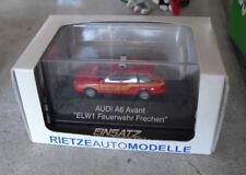 Rietze HO 1:87 Einsatz Audi A6 Avant ELW1 Feuerwehr Frechen Emergency Car NIP