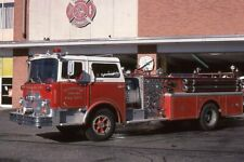 Commack NY 1970 Mack CF Pumper - Fire Apparatus Slide