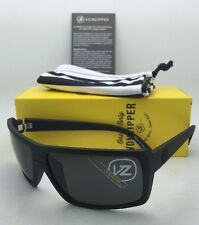 New VONZIPPER Sunglasses VZ SNARK Black Satin Frame w/ Grey Lenses