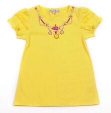 LOLA ET MOI - PROMO -70% - T-shirt Utopia collier jaune - Neuf étiquette