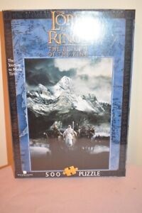 Lord of the Rings Blue Opal Jigsaw ROTK Journey to Minas Tirith New in the Box