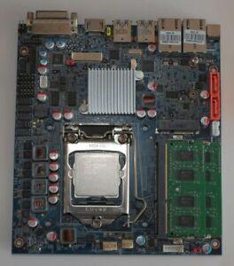 Shuttle Mainboard mit Intel I3-2120 CPU und RAM