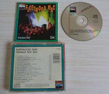 RARE VERSION CD ALBUM BEST OF GREATEST HITS LIVE FLEETWOOD MAC 15 TITRES 1991